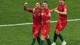 Ricardo Quaresma marcou o golo de Portugal frente ao Irão