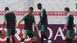 O derradeiro apronto de Portugal para o embate do Grupo B com Marrocos