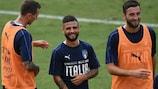 Lorenzo Insigne deve ser titular pela Itália