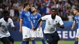 L'Italia di Mancini si inchina alla Francia