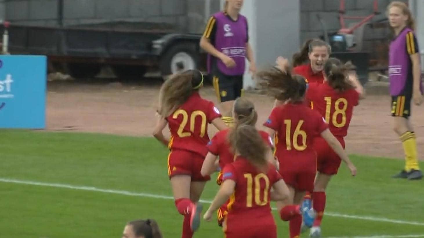Футбол испания- бельгия 5 0
