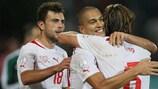 Suíça garante lugar no Brasil