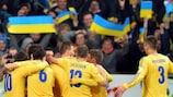 L'Ucraina festeggia il successo sulla Francia