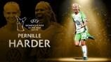 Хардер получила награду Лучшей футболистке Европы в сезоне 2017/18