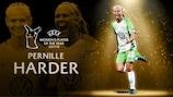 Pernille Harder vence prémio para Jogadora do Ano da UEFA