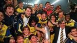 Baggio offre la Coupe à Parme