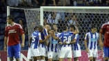 Porto proved too strong for Rapid