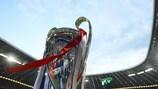 Der Pokal der UEFA Champions League