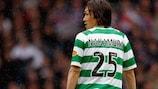 Camisola do Celtic autografada por Nakamura