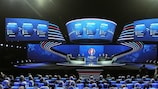 The UEFA EURO 2016 qualifying draw in Nice