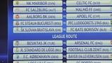 Il tabellone degli spareggi di UEFA Champions League
