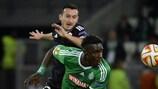 O St-Étienne voltou a empatar na quinta jornada – o quinto consecutivo nas competições da UEFA