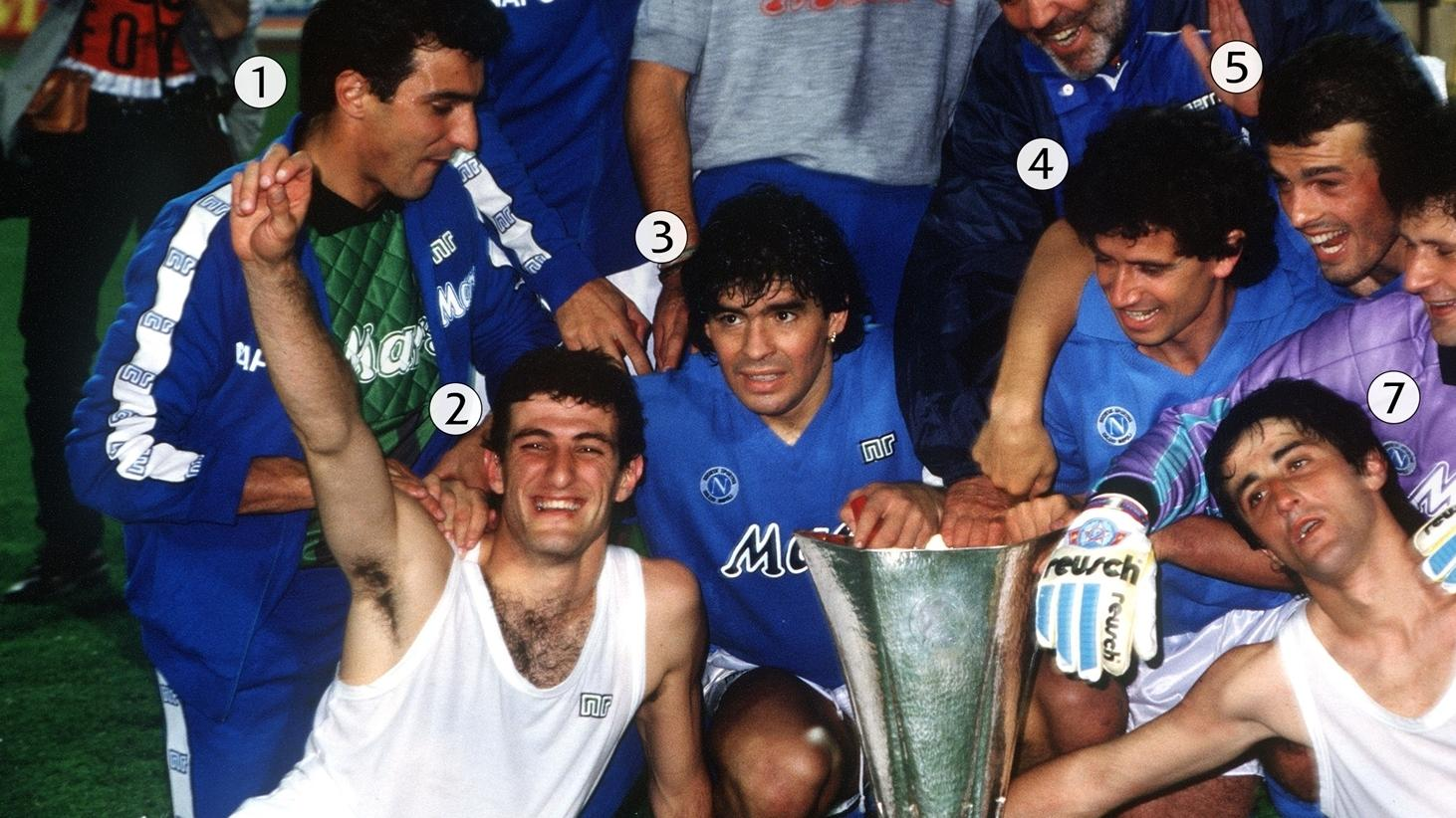Snap Shot Maradona S Napoli Reign Supreme 1989 Uefa Europa League Uefa Com