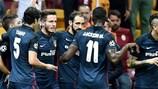 Antoine Griezmann steht nach seinem Doppelpack gegen Galatasaray im Team der Woche