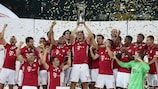 Bayern lift the German Super Cup after defeating Dortmund