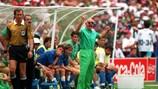 Arrigo Sacchi con l'Italia a USA '94