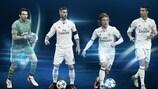 Новые награды УЕФА выиграли Джанлуиджи Буффон, Серхио Рамос, Лука Модрич и Криштиану Роналду