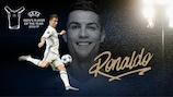 Cristiano Ronaldo voltou a ser eleitoJogador do Ano da UEFA