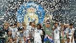 Três seguidas: Real Madrid faz história
