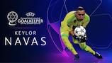 Keylor Navas élu Gardien de la saison en Champions League