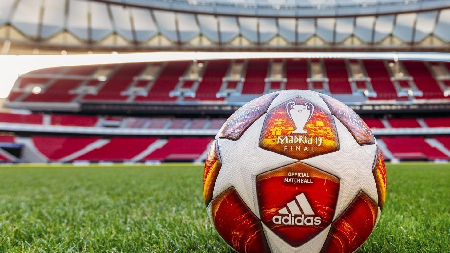 Th como eso Múltiple  adidas reveals official ball for 2019 UEFA Champions League final | UEFA Champions  League | UEFA.com