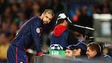 Gerard Piqué não ficou com boas recordações do último embate do Barcelona com o Bayern