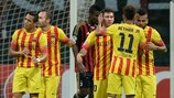 Leo Messi ha marcado un gol que ha permitido sumar un punto al Barça en San Siro