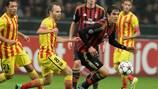 Kaká hizo un buen partido ante el Barcelona