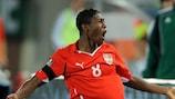 David Alaba has been named Austrian footballer of the year