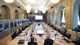 The UEFA Executive Committee meets in Vienna on Sunday and Monday