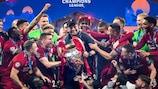 Klopp, con el título de la Champions League