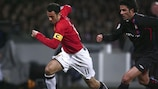 Ryan Giggs made his 100th UEFA Champions League appearance on Wednesday