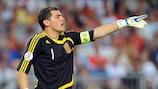 Iker Casillas ammira il gioco della Russia