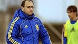 Наставник сборной Украины Павел Яковенко