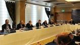 La dernière réunion du Comité exécutif de l'UEFA s'est tenue à Tel Aviv