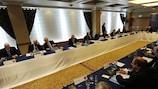 Le Comité exécutif de l'UEFA se réunit au siège de l'UEFA jeudi