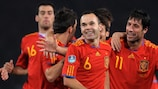 World and European champions Spain top the rankings