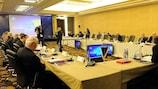 Исполком УЕФА провел заседание в Париже