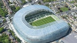 The Dublin Arena will host the final on 18 May