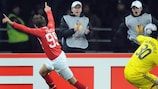 Spartak too strong for shaky Ajax