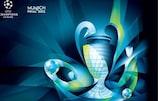 The 2012 UEFA Champions League final event design