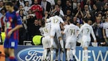 Measured Madrid have too much for CSKA