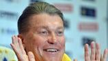 Oleh Blokhin has had a testing few weeks with Ukraine