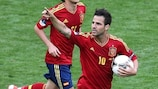 Cesc Fàbregas is relishing his new role for Spain