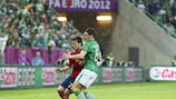 David Silva scored and provided two assists in Gdansk