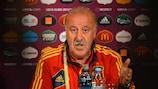 Vicente del Bosque falou à imprensa esta quarta-feira