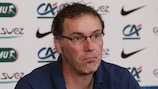 Laurent Blanc feels confident after France's first finals win since 2006