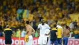 Alou Diarra après la défaite de la France