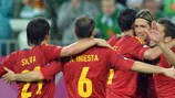 Del Bosque satisfied with 'complete' Spain
