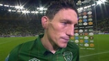 Keith Andrews' disappointment was etched on his face